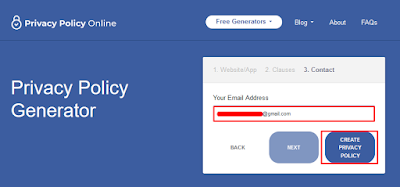 Cara membuat privacy policy otomatis