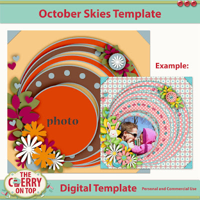 October Skies Template