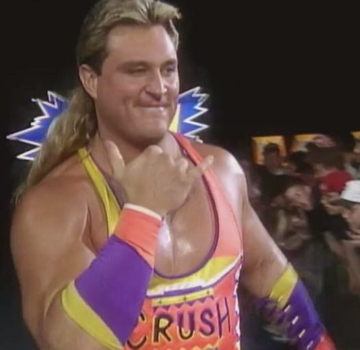 WWF / WWE King of the Ring 1993: Crush challenged Intercontinental Champion - Shawn Michaels