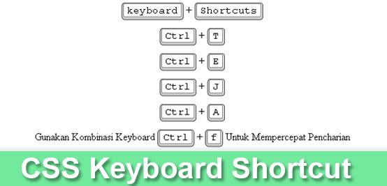 Keyboard shortcut CSS Button