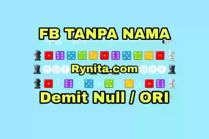 Font FB Tanpa Nama