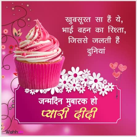Birthday Status Images For Sister
