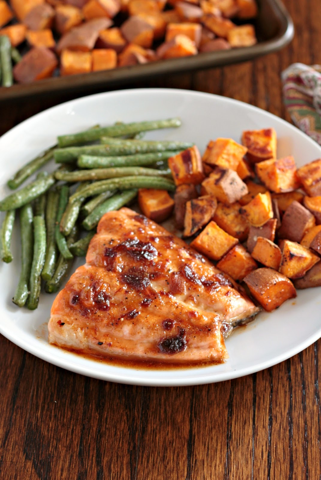 salmon with sweet chipotle glaze 2