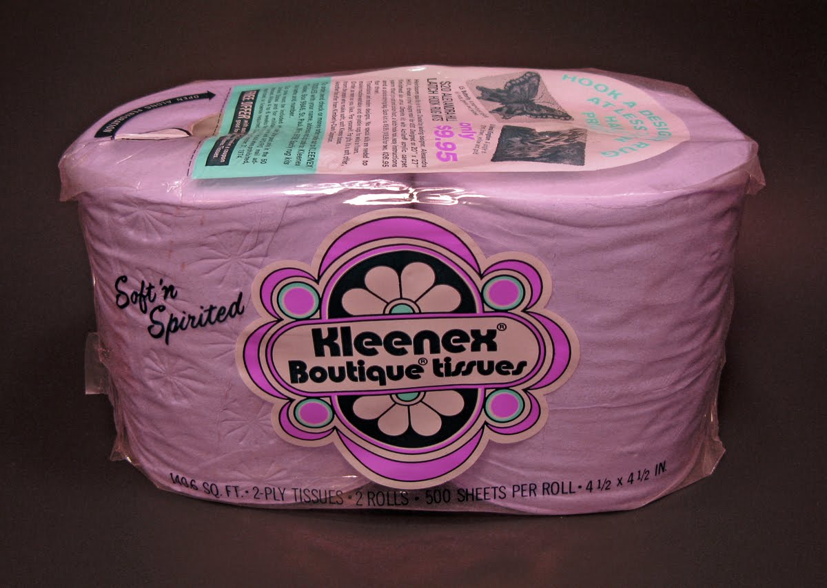 Neato Coolville: MY VINTAGE PURPLE TOILET PAPER COLLECTION