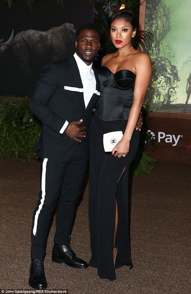 Hot! Checkout Eniko Parrish's body on date night with husband Kevin Hart