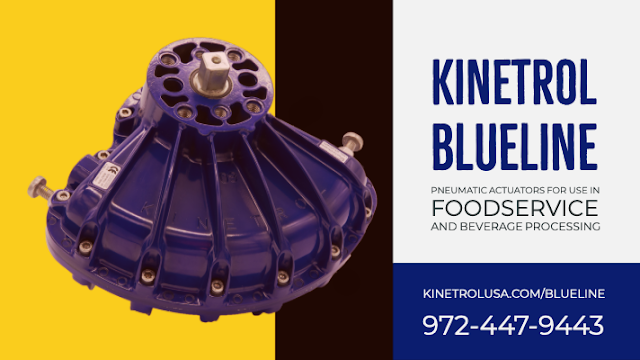 Kinetrol Blueline actuator