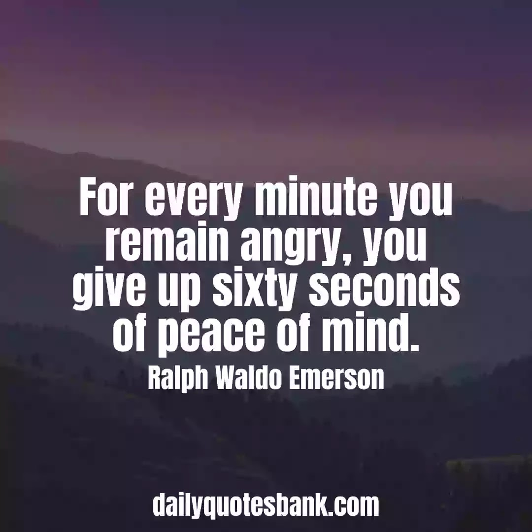 Ralph Waldo Emerson Quotes On Peace That Will Inspire You