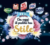 Logo Concorso Eroi di Casa '' Da oggi il pulito ha stile'' : vinci buoni carburante e set bagno Grohe