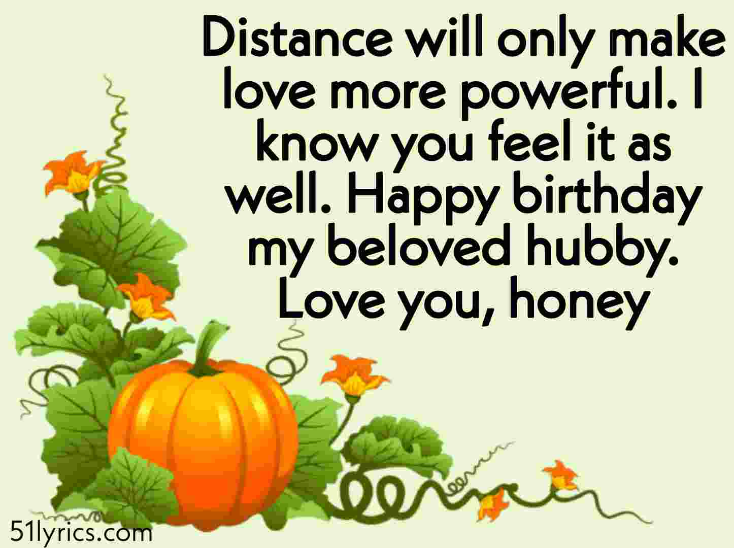 Missing Husband Quotes on his birthday