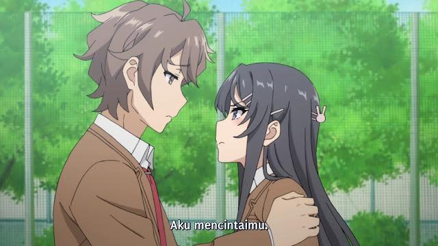 Seishun Buta Yarou wa Bunny Girl Senpai no Yume wo Minai Episode 1-13 Subtitle Indonesia