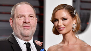 Wife Georgina Chapman leaves Harvey Weinstein