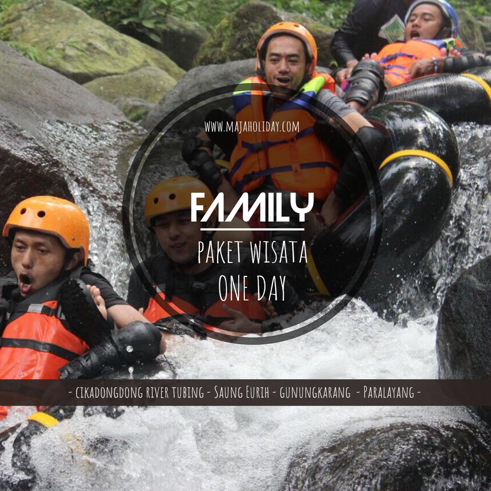 poster paket wisata family majalengka
