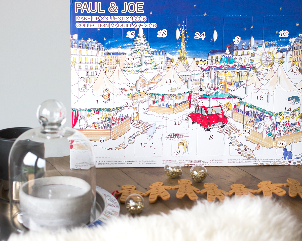 Paul & Joe Beauty Advent Calendar 2016