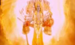 Sinopsis Mahabharata Episode 166  - Krisna Menampakkan Wujud Aslinya
