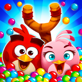 Download Angry Birds POP Bubble Shooter Mod Apk