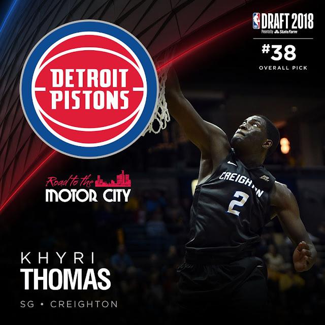 Khyri Thomas   PistonsFR, actualité des Detroit Pistons en France