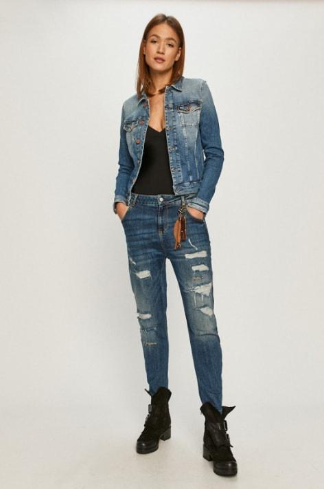 Tommy Jeans - Geaca de blugi albastra