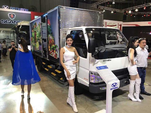Xe tải Đô Thành ra mắt sản phẩm mới