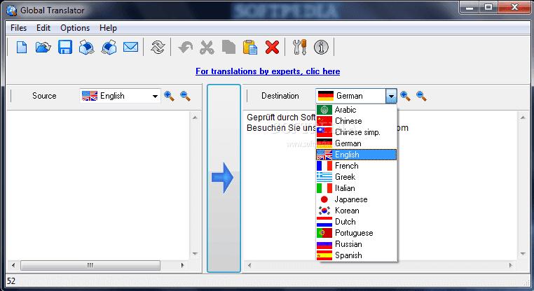 تحميل برنامج Global Translator للترجمة