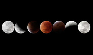 Longest Luner Eclipse - blood moon