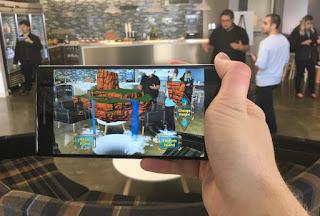 Lenovo Phab2 Pro, Tango AR smartphone