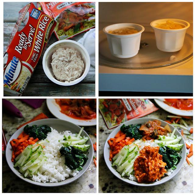 Salmon Bibimbap — Korean Rice Bowl