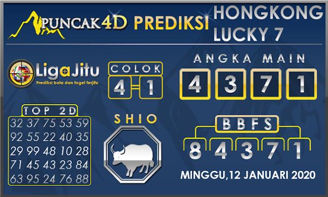 PREDIKSI TOGEL HONGKONG LUCKY7 PUNCAK4D 12 JANUARI 2020