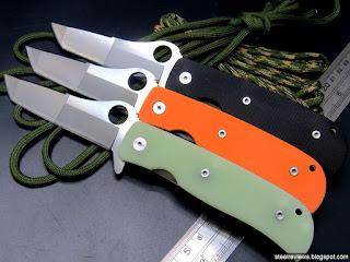 Spyderco C174 Double Bevel 3 colors