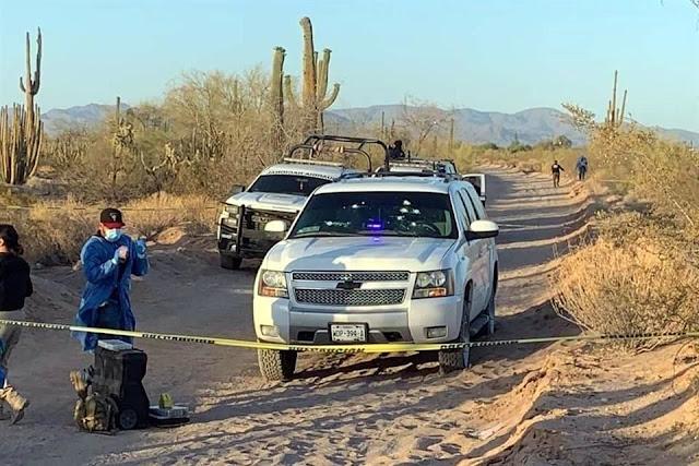 Guardias Nacionales confunden y ejecutan a Secretario de la Fiscalía  en Sonora que iba en Suburban polarizada