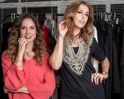 """Fe Cortez e Chiara Gadaletta em """"Menos É Demais"""": produção original do Discovery Home & Health - DIvulgação"""