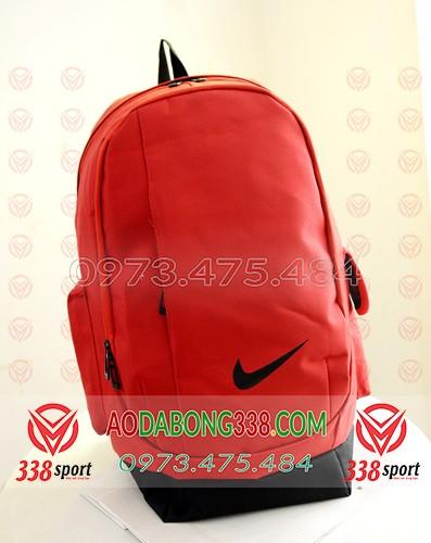 Balo Bóng Đá Giá Rẻ Nike Đỏ