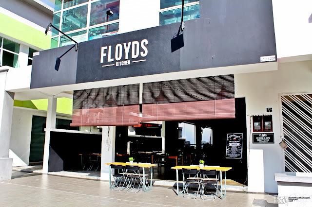Makan Di Floyds Kitchen Melaka