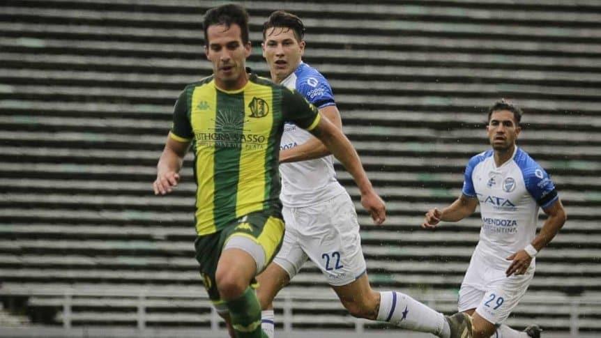 En el debut de Gago como DT, Aldosivi cayó como local ante Godoy Cruz