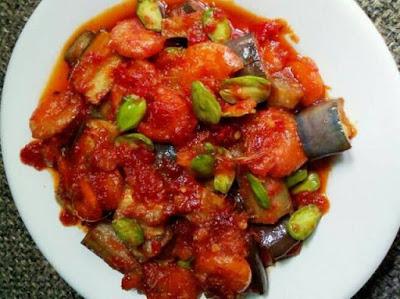 Resep Kuliner Sambal Udang Terong Pete Yang Enak