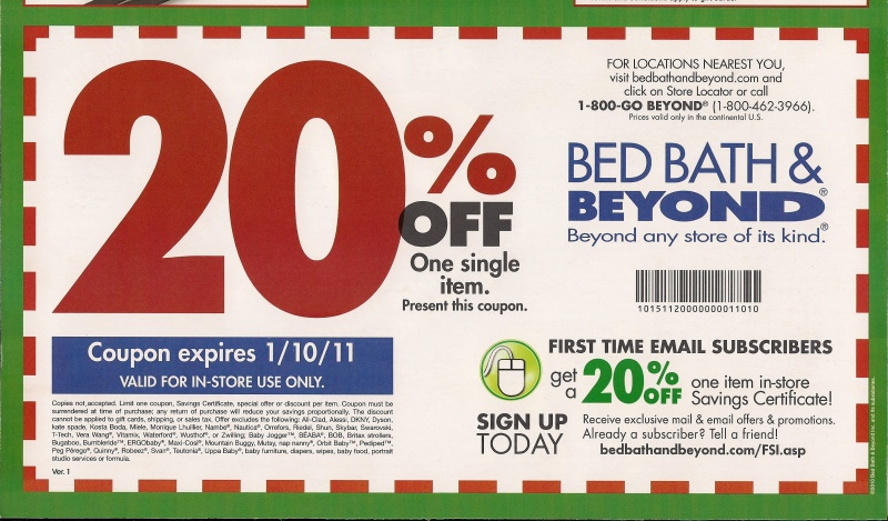 bed bath and beyond free coupon and shopping guide. Black Bedroom Furniture Sets. Home Design Ideas
