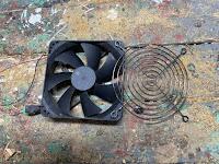 Computer fan for ventilation