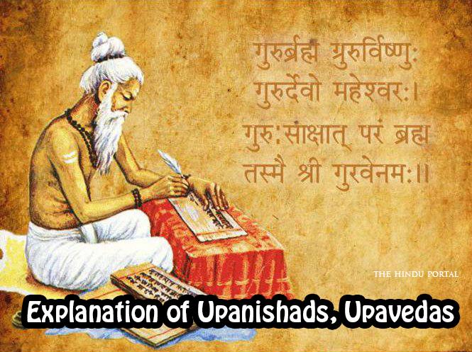 The Explanation of Upanishads, Upavedas and Vedangas