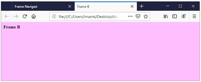 Output frame B