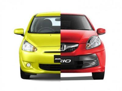 Perbandingan Mitsubishi Mirage Vs Honda Brio Lengkap, Pilih Mana?