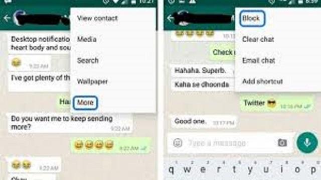 Cara Blokir Whatsapp