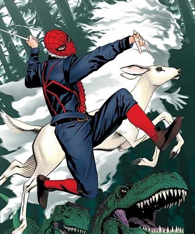 Spiderman del mundo 1602