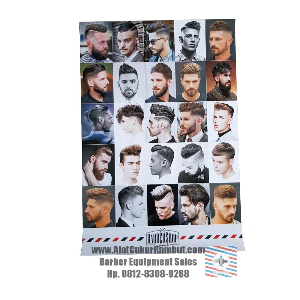 Desain Banner Barbershop Terbaru - gambar contoh banners