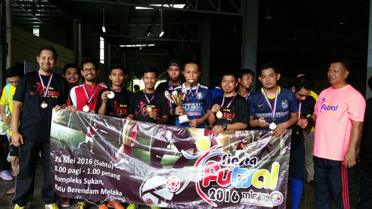 Juara Pertandingan Futsal MICTH