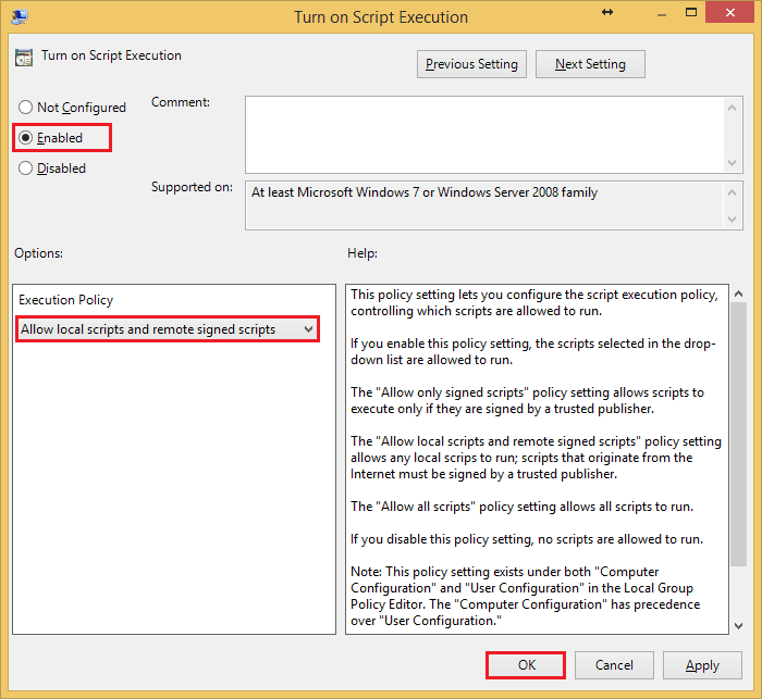 Running scripts is disabled on this system, PowerShell
