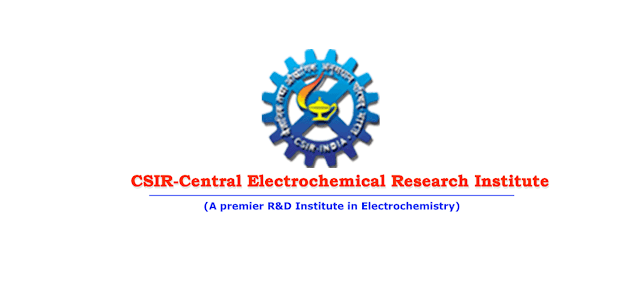 CSIR - CENTRAL ELECTROCHEMICAL RESEARCH INSTITUTE Invites application for various research positions