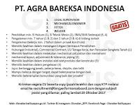 Lowongan Kerja PT. Arga Bareksa Indonesia