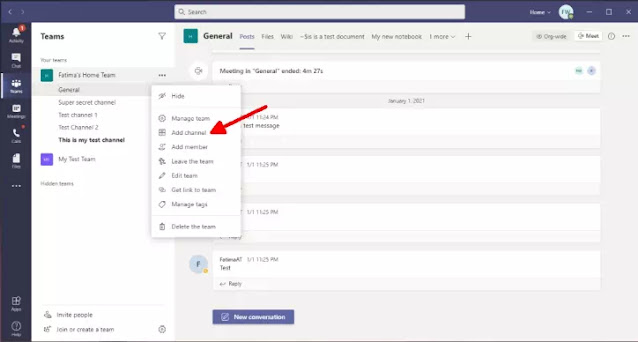 Cara Membuat Channel di Microsoft Teams-5