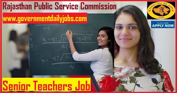 RPSC Jobs 2018 for 8162 Senior Teacher Vacancy for Any Graduate
