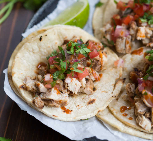 GRILLED CHICKEN STREET TACOS #tacos #chicken #dinner #easy #recipes