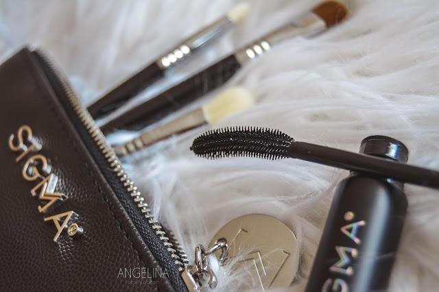 SIGMA BEAUTY│Flat Kabuki F80, Glam N Go & Sinuosity Lash